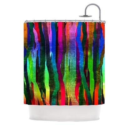 Jungle Stripes II Shower Curtain