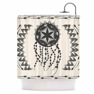 Dream Catcher Boho Shower Curtain