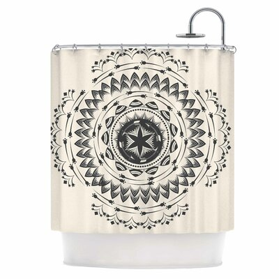 Boho Tribe Mandala Shower Curtain