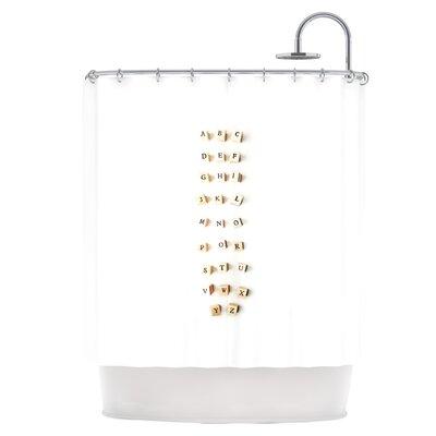ABC Shower Curtain