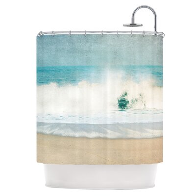 Ocean Blues Shower Curtain
