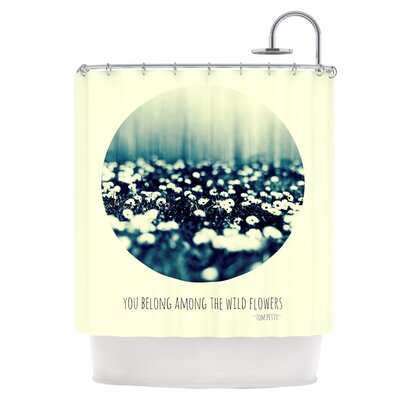 You Belong Shower Curtain