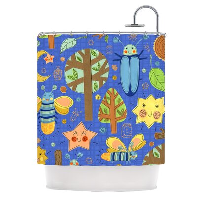Bug Shower Curtain