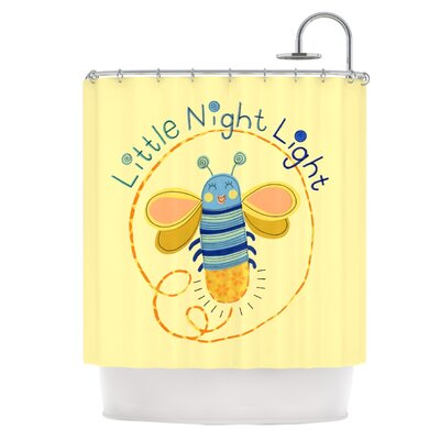 Little Night Bug Shower Curtain