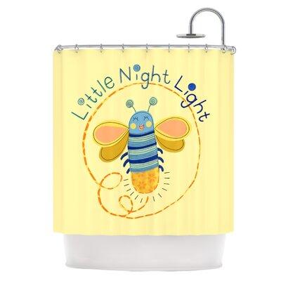 Little Night Bug Shower Curtain