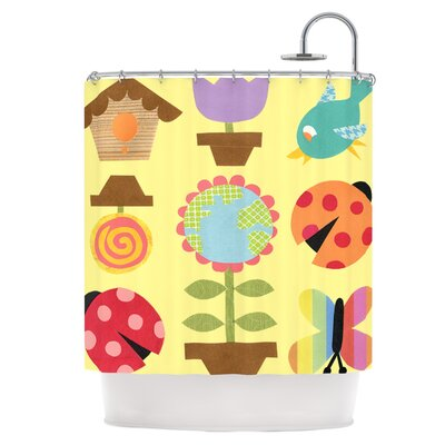 Spring Repeat Shower Curtain