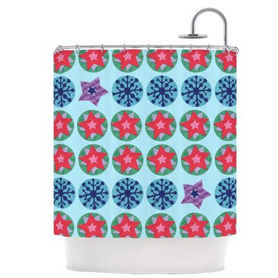 Seasons Winter Shower Curtain