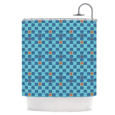 Checkerboard Shower Curtain