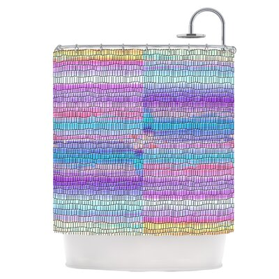 Drip Dye Shower Curtain