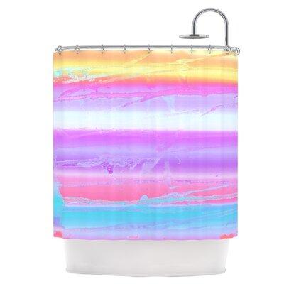 Drip Dye Shower Curtain