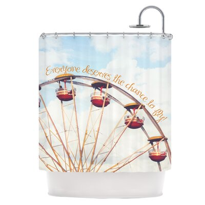 The Chance To Fly Shower Curtain