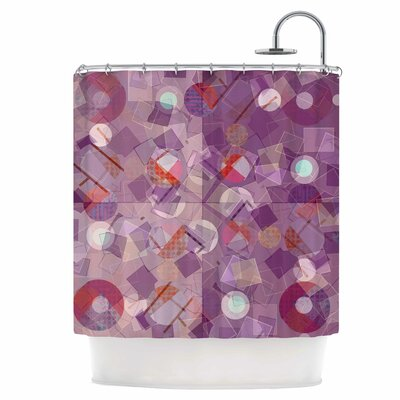 Mess Shower Curtain