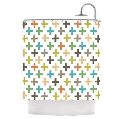 Crosses Repeat Shower Curtain