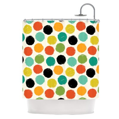 Dots Repeat Shower Curtain