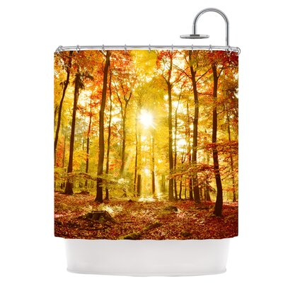 Sun Flooded Shower Curtain