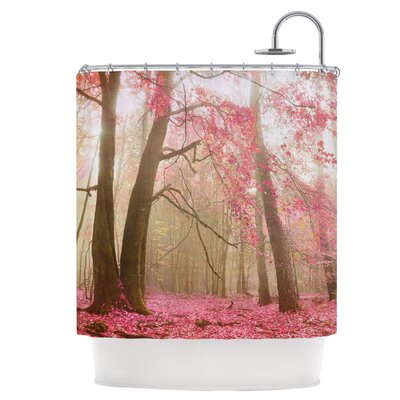 Atmospheric Autumn Shower Curtain