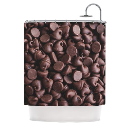 Yay! Chocolate Shower Curtain