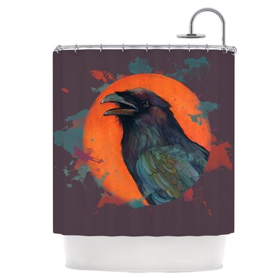 Raven Sun Alternate Shower Curtain