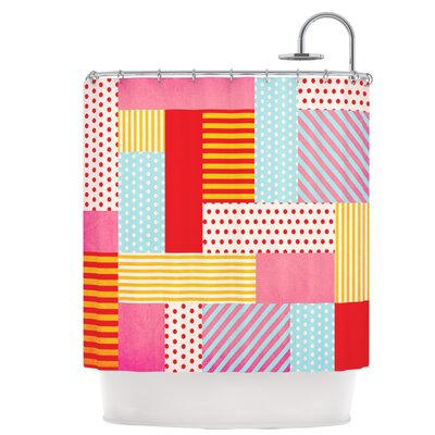 Geometric Pop Shower Curtain