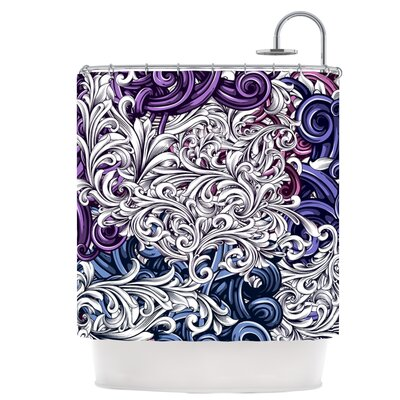 Floral I Shower Curtain