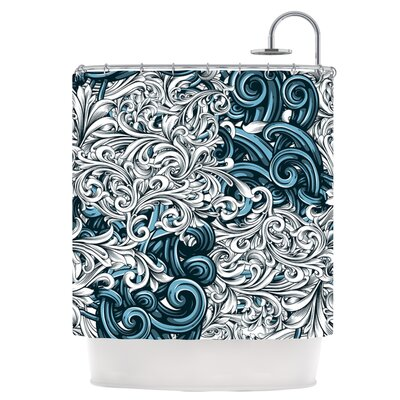 Celtic Floral II Shower Curtain