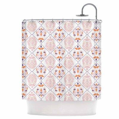 Modern Reminisence Shower Curtain