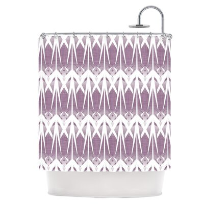 Arrow Lavender Shower Curtain