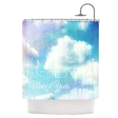 Paint the Sky! Shower Curtain