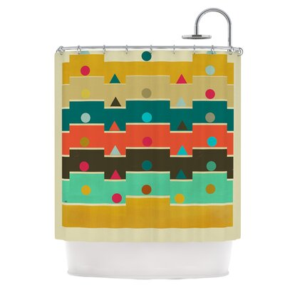 Modern Graphics Shower Curtain