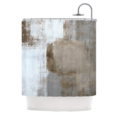 Calm and Neutral Shower Curtain