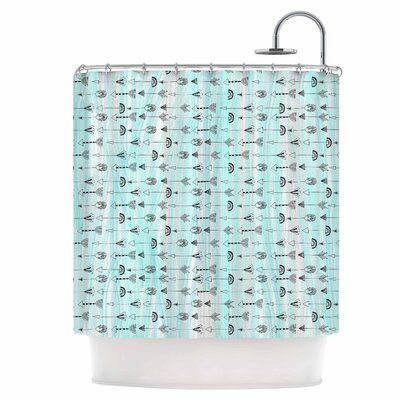 Mintyarrows Shower Curtain