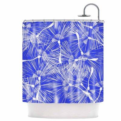 Palmtree Chinoiserie Shower Curtain