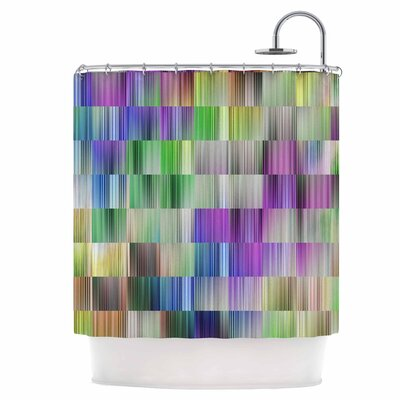 Sweet Lines III Shower Curtain