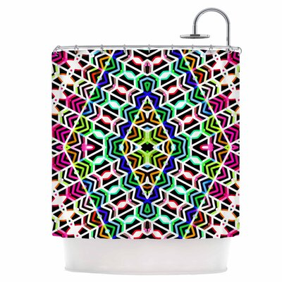 Colorful Tribal Pattern Shower Curtain