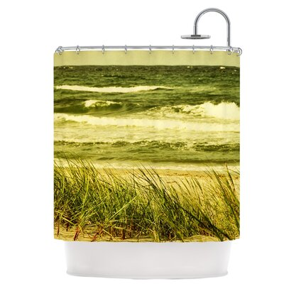 Dunes and Waves Shower Curtain