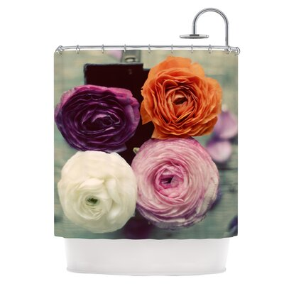 Four Kinds of Beauty Shower Curtain