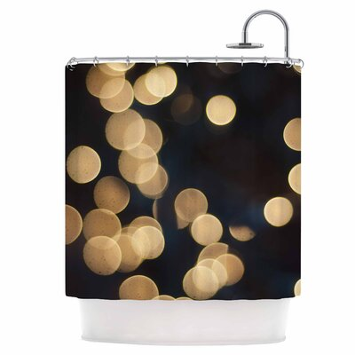Blurred Lights Shower Curtain