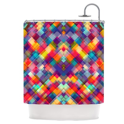 Squares Everywhere Shower Curtain