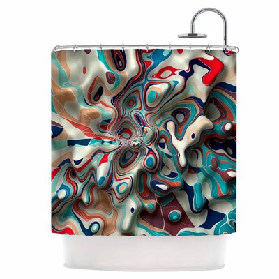 Weird Surface Shower Curtain