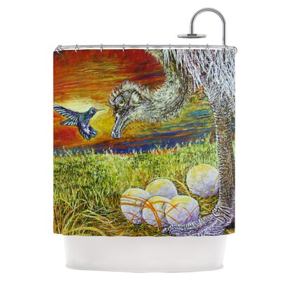 Ostrich Shower Curtain