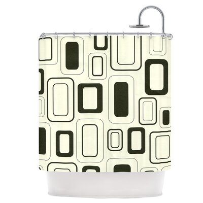 Cubes For Days Shower Curtain