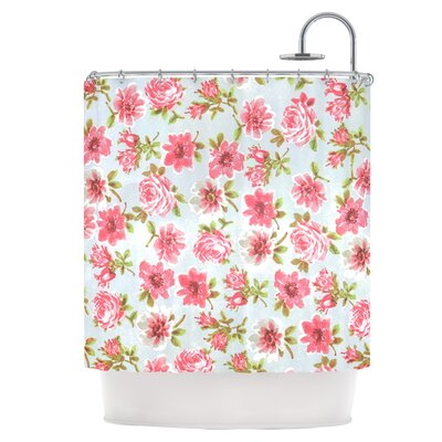 Petals Forever Shower Curtain