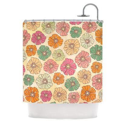 Vintage Petals Shower Curtain