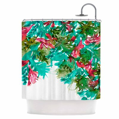 Floral VII Shower Curtain