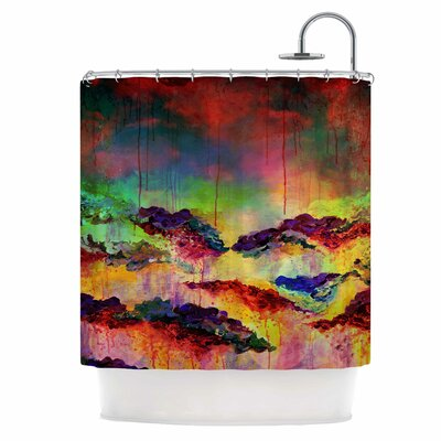 Its A Rose Colored Life IV Shower Curtain