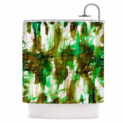 Noise IV Shower Curtain