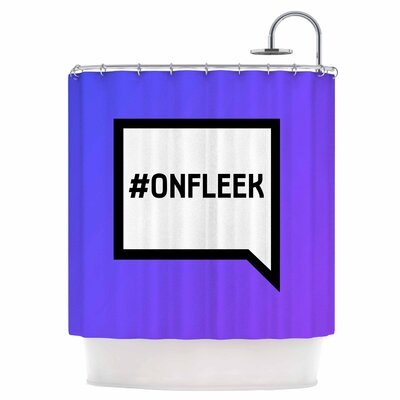 On Fleek Shower Curtain
