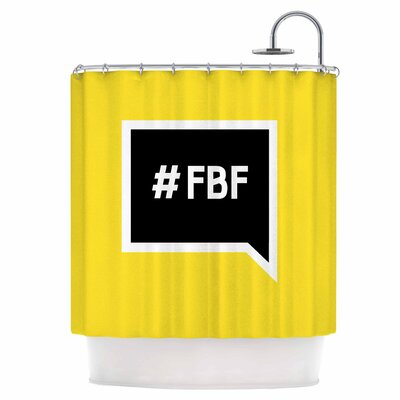 Flash Back Friday Shower Curtain