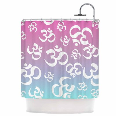 OHM My Pastels Shower Curtain