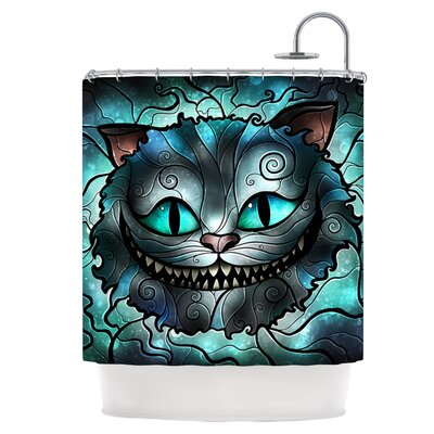 Mad Cheshire Shower Curtain